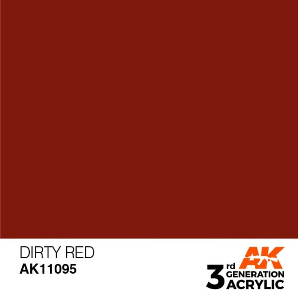 Dirty Red - Standard