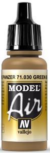 030 Green Brown, 17 ml