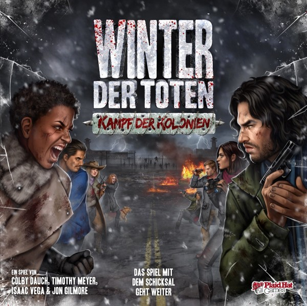 Winter der Toten - Kampf der Kolonien • Erweiterung