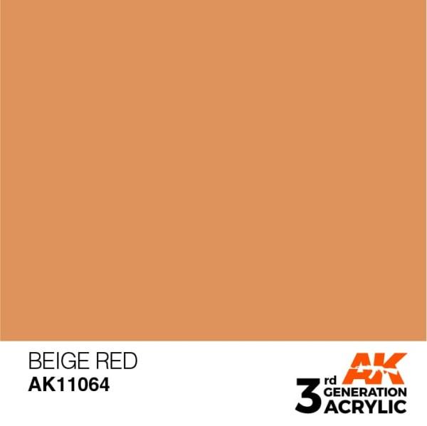 Beige Red - Standard