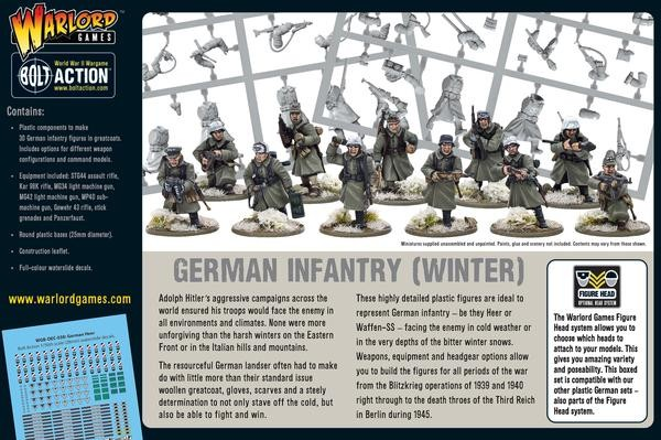 Germans Infantry (Winter)